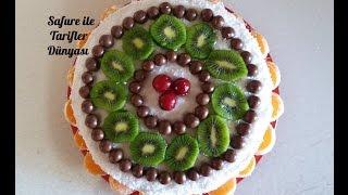 Dünyanın En Kolay Pastası - Pratik Yaş Pasta Tarifi - Yaş Pasta Nasıl Yapılır?
