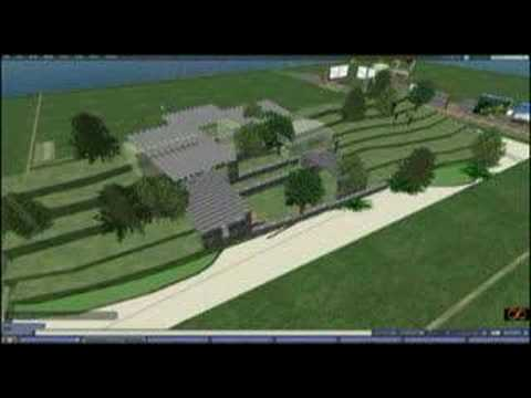 Wikitecture Progress, Second Life Machinima, 3D Wiki