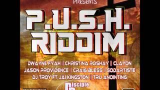 P.U.S.H.  RIDDIM 2015 @DISCIPLEDJ Mix GOSPEL REGGAE GOSPEL @ProdbyJaiMixx  Shabach Records