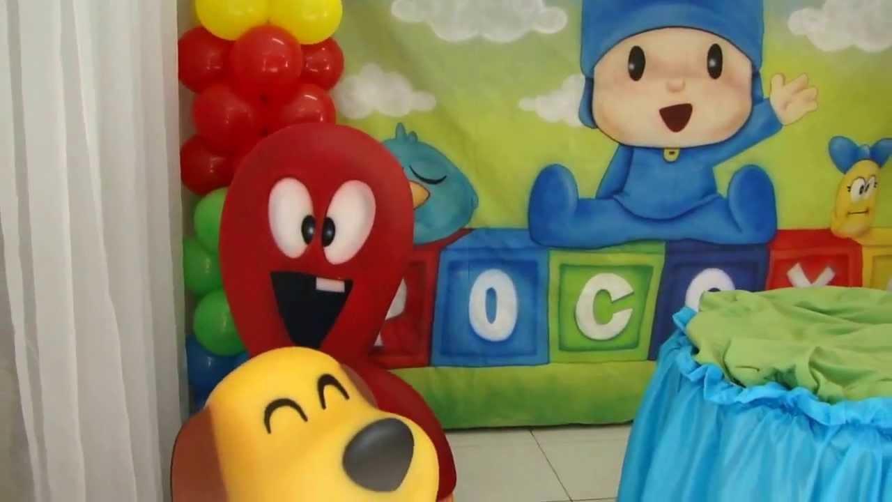Top Decoração de Aniversário do Pocoyo - Curitiba - YouTube WY58