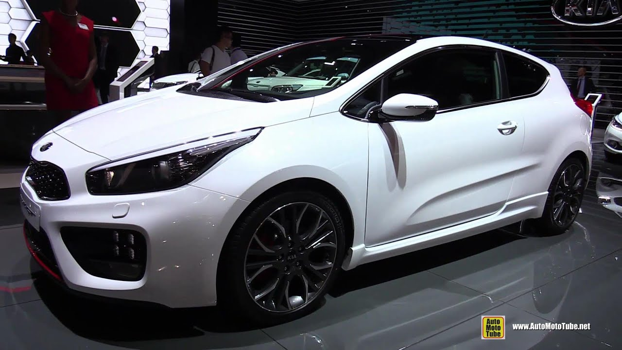 2015 kia pro cee 39 d gt exterior and interior walkaround 2014 paris auto show youtube. Black Bedroom Furniture Sets. Home Design Ideas