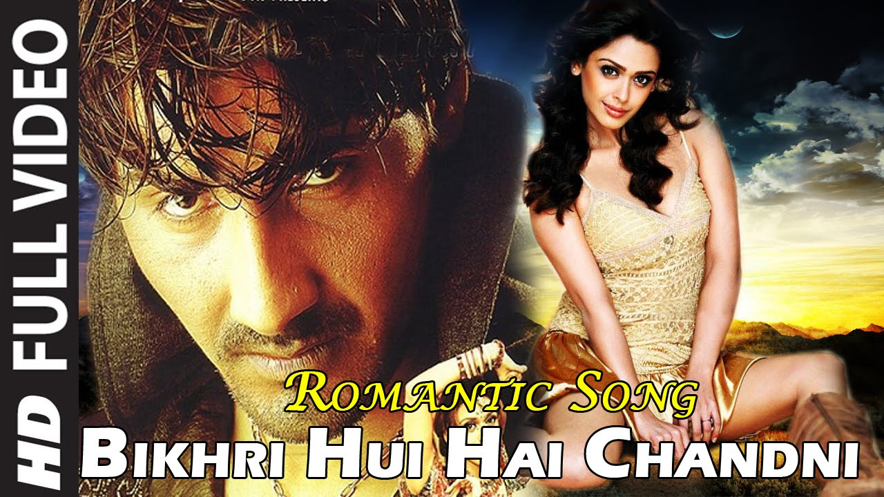Download Bikhri Hui Hai Chandni - Romantic Song Udit Narayan - The Hero - Abhimanyu - Hrishitaa Bhatt