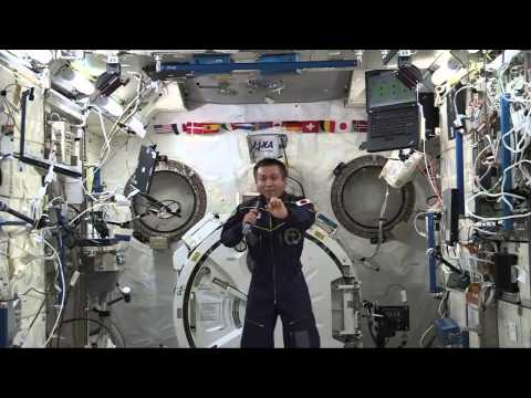 Space Station Commander Koichi Wakata  Discusses Life in Space with Japanese Media