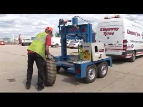 Tyre Press | Heavy Duty Tyre Press 120T & 150T Tyre Presses