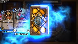 Defender of Argus - Classic Hearthstone rare card pack opening