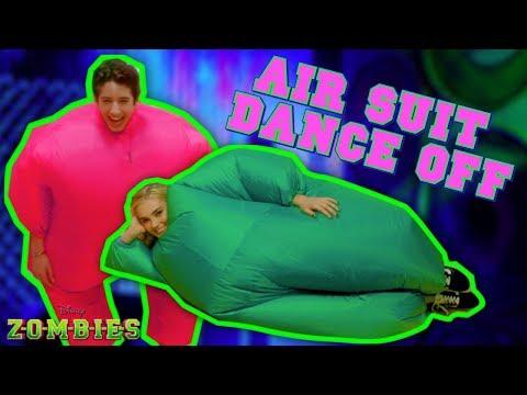 Air Suit Dance Off Challenge 💃🏽  ZOMBIES  Disney Channel