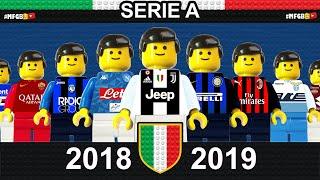 Serie A 2018/19 Sintesi e Goal campionato 2019 in LEGO Calcio • Film LEGO Football Goals Highlights