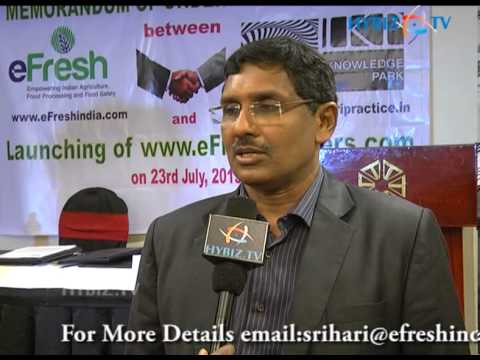Sree Hari Kotela - Efresh Launch All tenders at one place