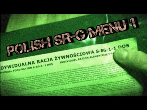 Polish SR-G Menu