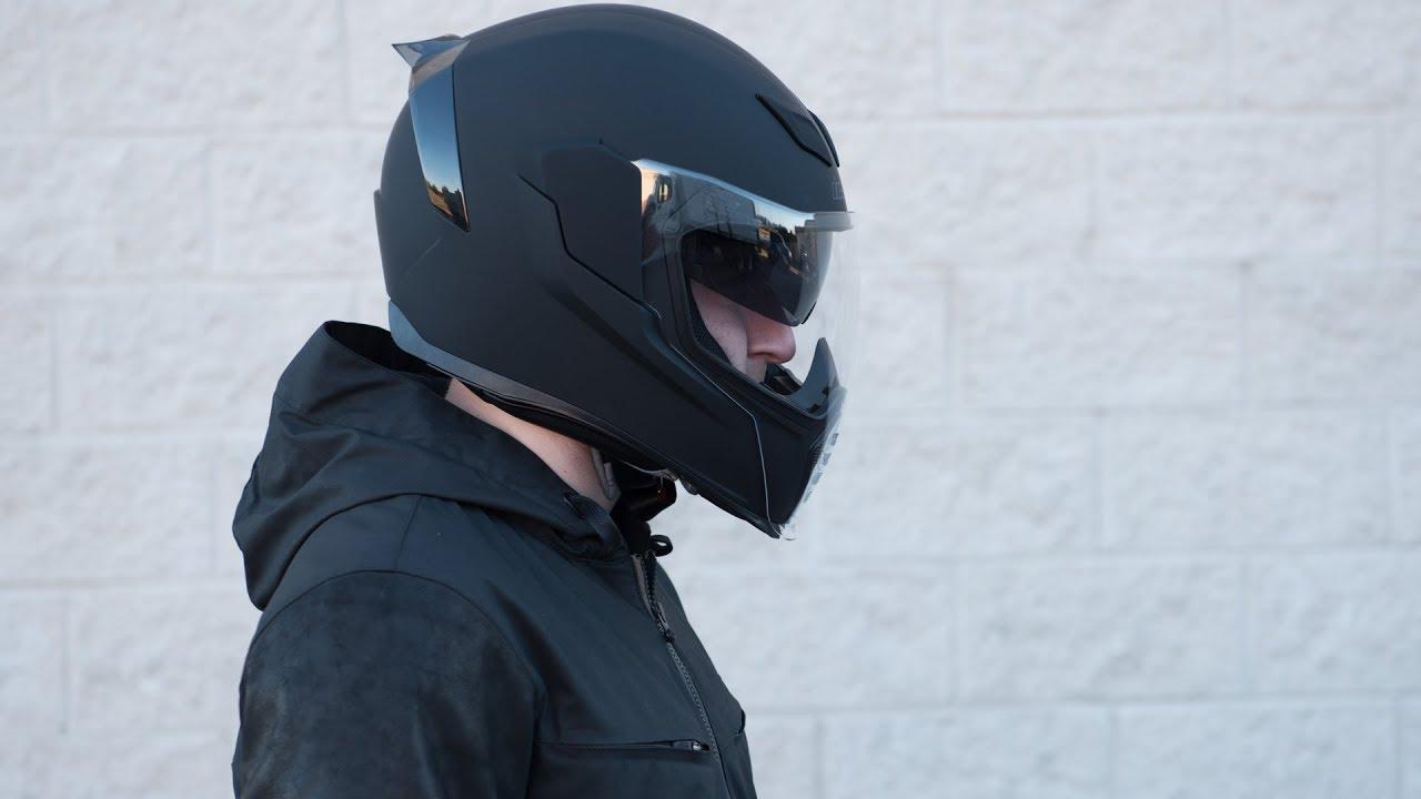 8d354ee1 Icon Airflite Rubatone Helmet Overview - GetLowered.com - YouTube