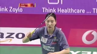 Badminton 2017 Premier   Sung Ji Hyun vs Carolina Marin