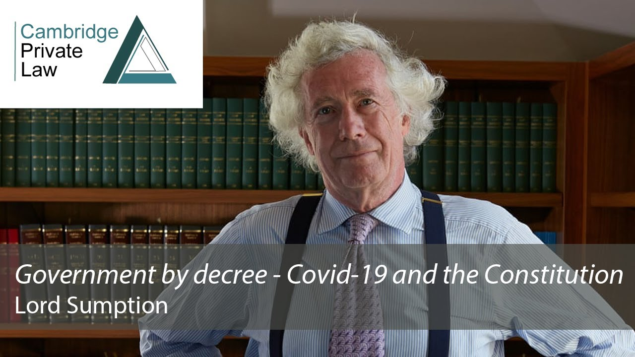 Lord Sumption Cites selective Police action Against Piers Corbyn