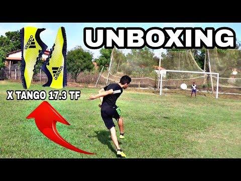 Unboxing da Chuteira Adidas X Tango 17.3 TF Society
