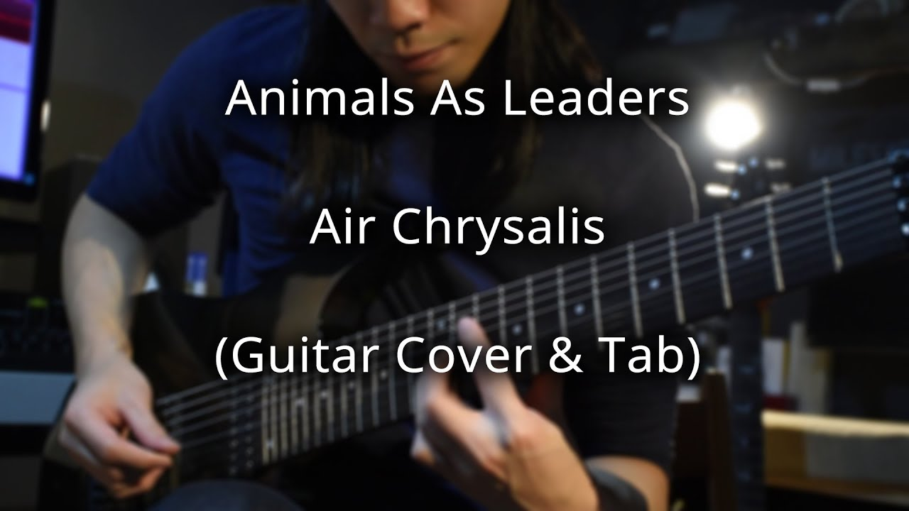 Animals As Leaders Air Chrysalis Guitar Cover Youtube