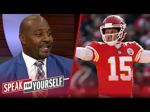 Marcellus Wiley continues to back Patrick Mahomes for NFL MVP | NFL | SPEAK FOR YOURSELF