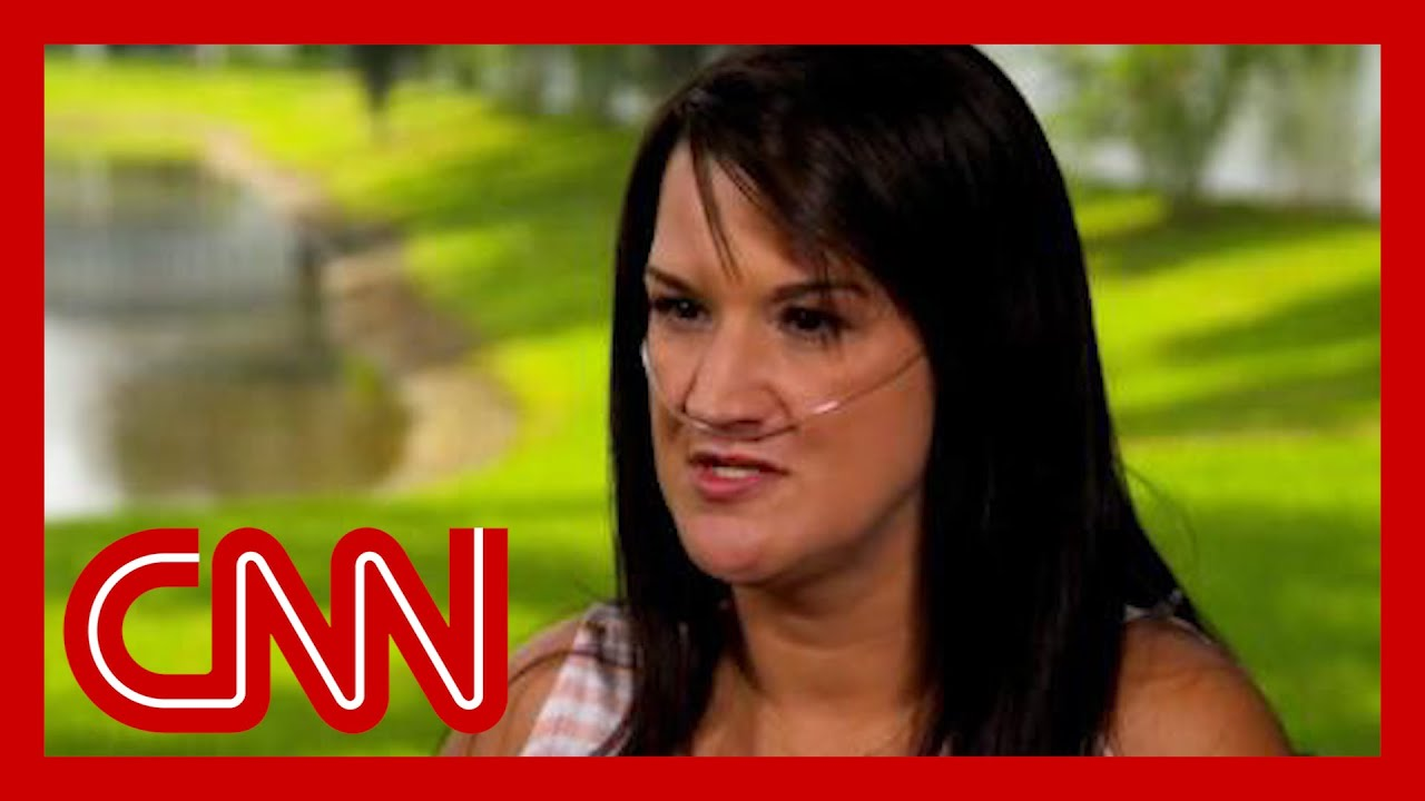 Download 'Just get the stupid shot': Unvaccinated mom who got Covid-19 speaks out
