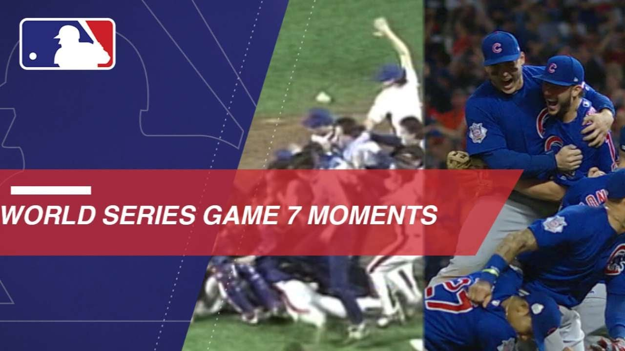 Top Game 7 Moments In World Series History Youtube