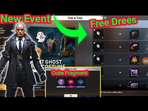 New Event Free Fire - How to Get Ghost candy & Pumpkin candy || Free magic cube Fragment