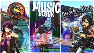 FORTNITE MUSIC BLOCK COMPILATION ! MUSIC BLOCKS CREATIONS