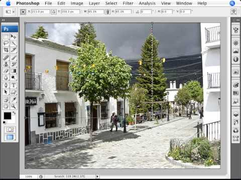 Learn Photoshop - How to Retain Aspect Ratio in a Crop