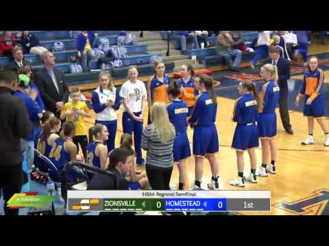 Watch Live: Homestead vs Zionsville | Girls IHSAA Regional Basketball Broadcast