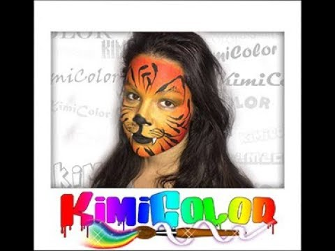 Kimicolor maquillage tigre !!!