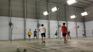 Badminton MD [Đức-Thông vs Bình-Thọ]