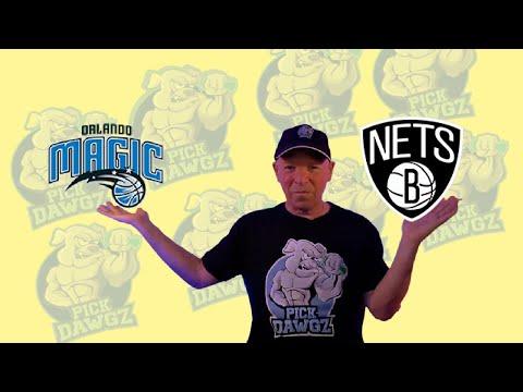 Orlando Magic vs Brooklyn Nets 3/19/21 Free NBA Pick and Prediction NBA Betting Tips