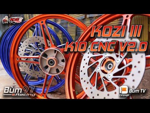 Mâm Kozi K10 V2.0 CNC cho Exciter 150   Bùm TV
