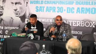 FLOYD MAYWEATHER CALLED IT BULLSHIT. MAYBE PEOPLE DONT LIKE FLOYD? -BADOU JACK ON HORRENDOUS JUDGING