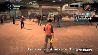 Dead Rising 2: Case Zero - All Bike Part Locations Guide/Tutorial (dr choo)