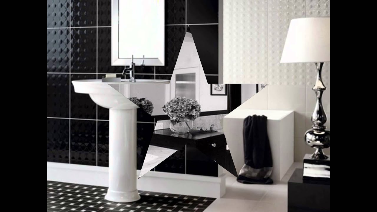 Black-and-white-dining-room-set-laminate-flooring-ideas