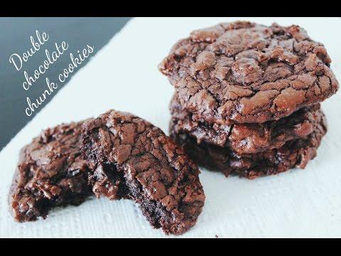 double-chocolate-cookies-♡-cookies-double-chocolat-♡-كوكيز-الشوكولاتة-المكثفة