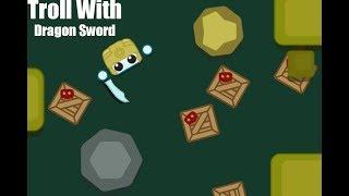 Making A Dragon Sword Troll In Starve Io