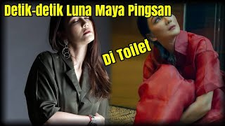 Detik-detik Luna Maya T!ba-t!ba Jatuh Pingsan di Toilet Studio ANTV.