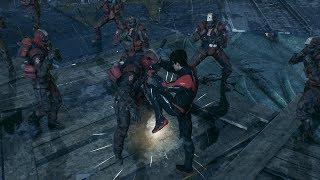 Arkham Knight Combat maps Nightwing-Azrael