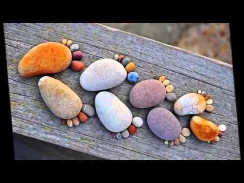 Оригинальные детские поделки из камней своими руками