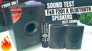 F&D T200X 2 1 Bluetooth Speaker Soundbar Home Theater || The