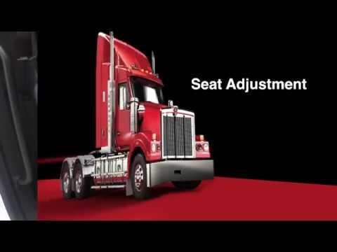 006 T610 Driver Training seat adjustment