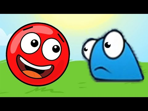Новый КРАСНЫЙ ШАР, Красныш и капитошки, красный шарик спасает Соню, мультик игра #112