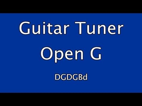 Guitar Tuner - Open G