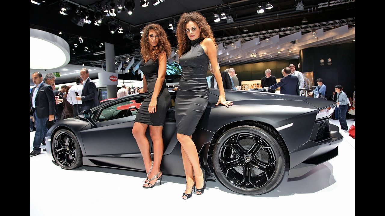 Girls Of The 2011 Frankfurt Motor Show Uncovered Youtube