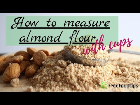 how-to-measure-almond-flour-with-cups
