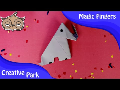 DIY Crafts - How To Make An Easy Paper Origami Elephant For Kids