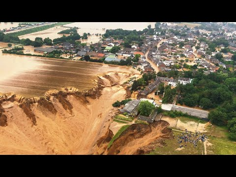 Germany is washed away! More than 300,000 residents were affected. Austria also suffered. Floods!