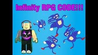 Infinity RPG | OP CODES! | Roblox
