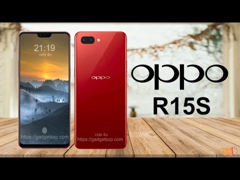 OPPO R15S Official Look, Release Date, Price, Specifications, Features, Camera, Launch, First Look Your Videos on VIRAL CHOP VIDEOS