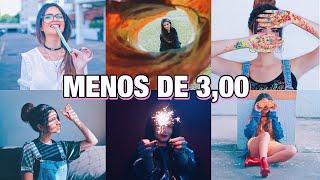 Ideias de Fotos Estilosas e Tumblr gastando R$ 3,00