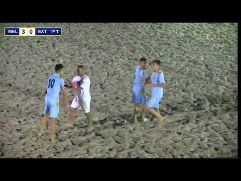 Melilla-Extremadura Fase Grupos Cadete Fútbol Playa