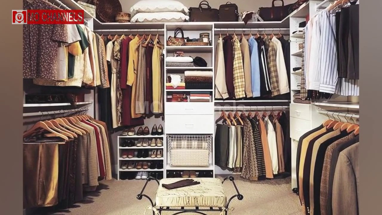 best inspiration bedroom walk in closet designs ideas - youtube